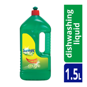 Sunlight Lemon 100 Dishwashing Liquid 1.5l x 8
