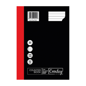 Croxley A4 192 Page Counter Book