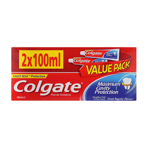 Colgate Regular Toothpaste Twinpack