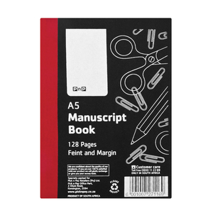 PnP A5 128pg Counter Book