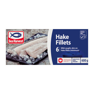 Sea Harvest Hake Fillets 600g x 12
