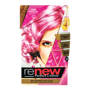 Renew S/perm Hair Colour Pink Passion