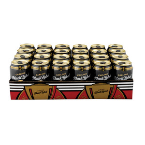 Black Label Beer Can 330 ml x 24