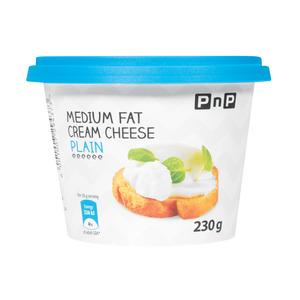 PnP Low Fat Plain Cream Cheese 230g