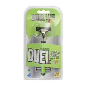 Duel Twin Blade Axis Ii Disposable Razor
