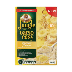 Jungle Oatso Easy Banana And Toffee Instant Oat 500g