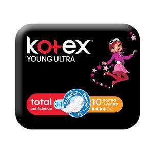 Kotex Ultra Thin Pads Normal+wings 10ea