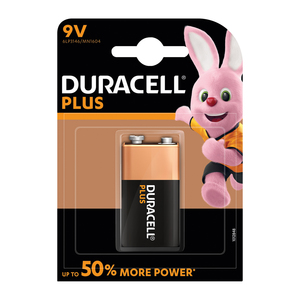 Duracell Batteries Power Plu s 9V