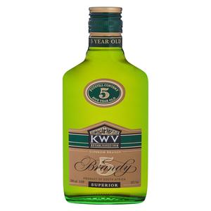 KWV 5YO Brandy 200ml x 12