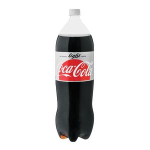 Coca-Cola Light Plastic Bottle 2l x 8
