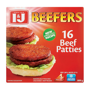 I&j Frozen Beefers 800 GR