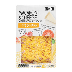 Pnp Macaroni Bacon&cheese 1.2kg
