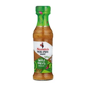 Nando's Wild Herb Peri Peri Sauce 125ml