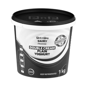 Double Cream Plain Yoghurt 1kg