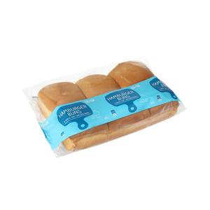 Pnp Bakehouse White Hamburger Buns 6ea