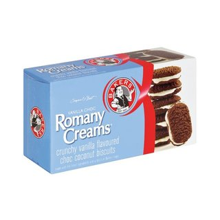 Bakers Romany Vanilla Chocol ate Biscuits 200g x 12