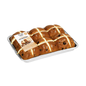 Bakery Pnp Hot Cross Buns 6 Ea