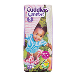 Cuddlers Comfort Baby Diapers Size5 44ea