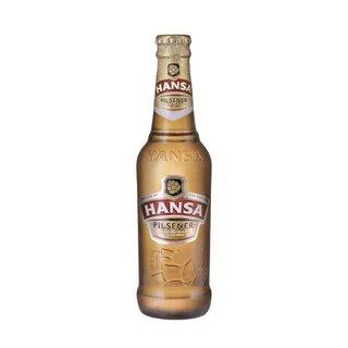 Hansa Pilsener Beer Bottle 330ml