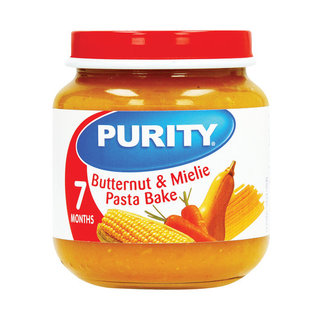 Purity Butternut & Mielie Pasta Bake 2nd Babyfood 125ml x 6