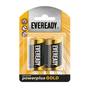 Eveready Power Plus Gold C 2 P 2