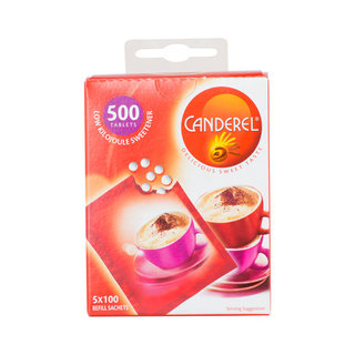 Canderel Tablets Refill 500ea x 12