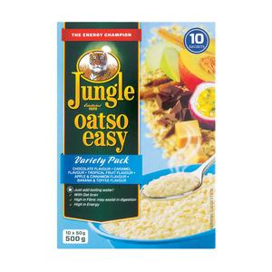 Jungle Oatso Easy Variety Instant Oats 500g