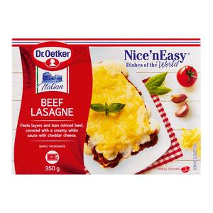 Nice'n Easy Beef Lasagne 350g