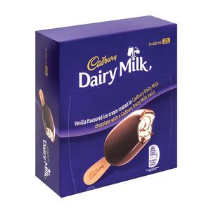 Cadbury I/cream Dairymilk M/pack 5x60ml