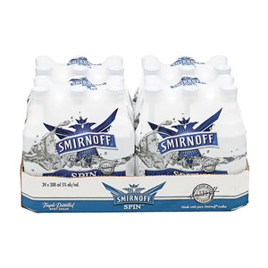 Smirnoff Spin Spirit Cooler 300 ml x 24