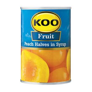 Koo Choice Grade Peach Halves 410g