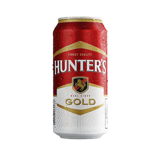 Hunters Gold Cider Can 440 ml x 24
