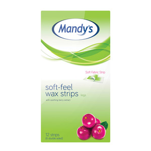 Mandy's Soft Feel Legs Strips 12ea