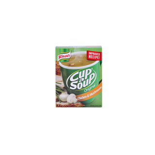 Knorr Cup-A-Soup Chicken & Mushroom 4s