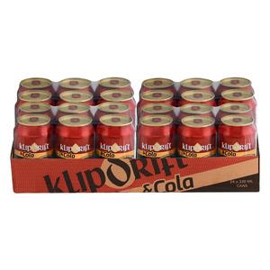 Klipdrift & Cola Can 330 ml x 24