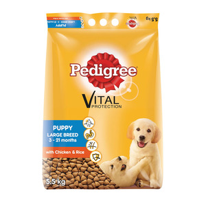 Pedigree D/f Pup Dry L Breed C&ric 5.5kg