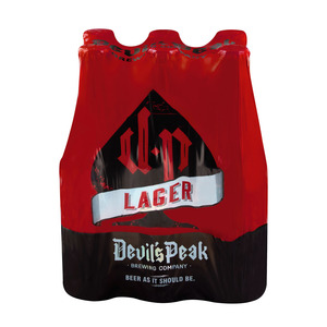 Devils Peak Lager 340ml x 6