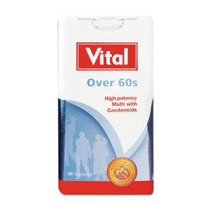 Vital Over 60s Capsules 30s