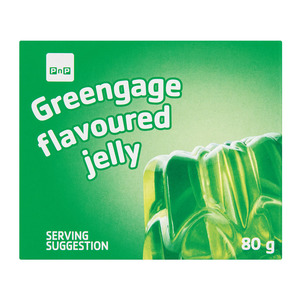 PnP Greengage Flavoured Jelly 80g