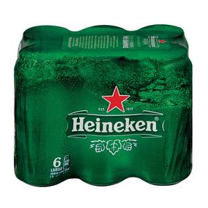 Heineken Lager Can 440 ml x 6