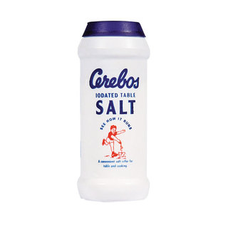 Cerebos Iodated Table Salt 125g x 12