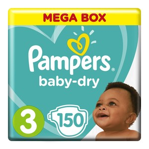 Pampers Midi Mega Pack Size 3 150ea