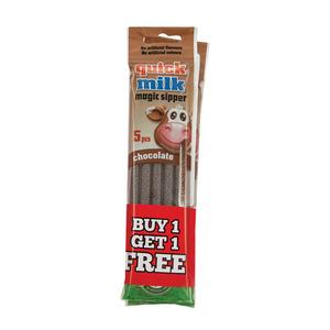 Magic Straw Quick Milk Chocolate 5ea