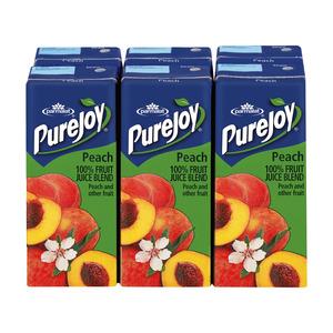 Parmalat Pure Joy Peach Juice 200ml x 6