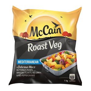 Mccain Mediterranean Roast Vegetables 1kg