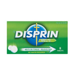 Disprin Pain Relief Melts 8