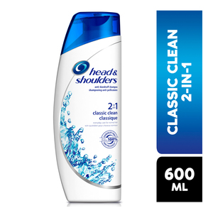 Head & Shoulders Anti Dandruff Shampoo 2-in-1 Classic Clean 600ml