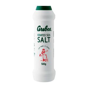 Cerebos Sea Salt In Flask 500g