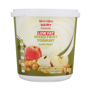 PnP Low Fat Mixed Fruit Yoghurt Cape Fruit 1kg
