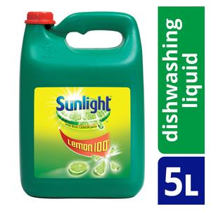 Sunlight Dishwashing Liquid 5l x 4